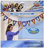 Amscan International 1216093,2m x 25cm DC Super Hero Mädchen Add-an-Age Buchstabe Banner