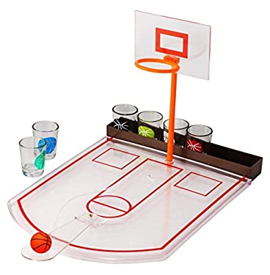 Jeu de consommation de basket-ball - Jeux de partie pour adultes - Jeux de consommation d'alcool - Jeux pour adultes