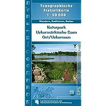 uckermark zwischen schorfheide und nationalpark unteres odertal 46 touren mit gpstracks rother wanderfhrer
