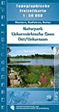 Naturpark Uckermärkische Seen Ost/Uckerseen: Topographische Freizeitkarte 1:50000 (Topographische Freizeitkarten 1:50000, Land Brandenburg) -