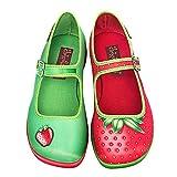 Hot Chocolate Design Chocolaticas Strawberry Ballerines Mary Jane pour femmes US 5 multicolore