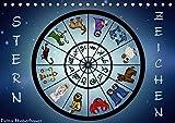 Sternzeichen (Tischkalender 2018 DIN A5 quer): Sternzeichen Horoskop (Monatskalender, 14 Seiten ) (CALVENDO Kunst) [Kalender] [Apr 01, 2017] Creation, Pezi