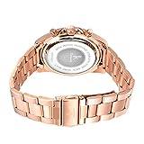 Alienwork-Quarz-Armbanduhr-Rosgold-Uhr-Damen-Uhren-Mdchen-Strass-Metall-rose-gold-K001GA-03