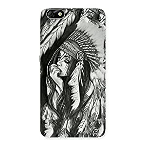 Premium Sketch Art Back Case Cover for Honor 4X