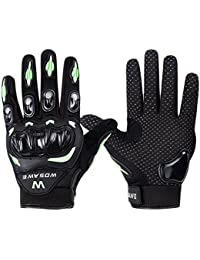 Fastar guantes de moto impermeable - Guantes profesionales de motocross, guantes de carreras de motos para BMX ATV MTB bicicleta de ciclismo