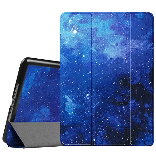 """Fintie Hülle kompatibel mit iPad 9.7 2018 2017 / iPad Air - Ultra Schlank Superleicht Ständer Schutzhülle mit Auto Schlaf/Wach Funktion für iPad 9,7"""" 2018/2017 Modell, iPad Air 2/1, Sternenhimmel"""