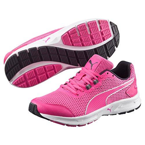 Puma Descendant V4, Scarpe da Atletica Leggera Donna, Rosa (Pink Glo/Argento), 38 EU