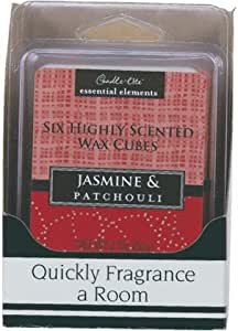 Jasmine and Patchouli Scented Wax Cubes - 2 oz. Case Pack 4