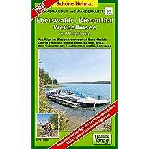 Radwander- und Wanderkarte Eberswalde, Biesenthal, Werbellinsee und Umgebung: Ausflüge im Biosphärenreservat Schorfheide-Chorin zwischen dem ... und Liebenwalde. 1:50000 (Schöne Heimat)