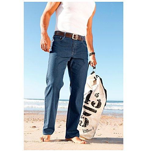 JAN VANDERSTORM Herren Doppelpack Jeans SOA in Übergröße | Große Größen | Kurzgröße | Plus Size | Big Size | Größe 27 - 37 und 54 - 74 Gemustert