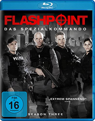 Flashpoint - Das Spezialkommando - Staffel 3 [Blu-ray]