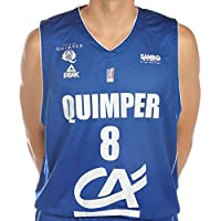 Peak Ujap Quimper Officiel Maillot de Basketball Homme