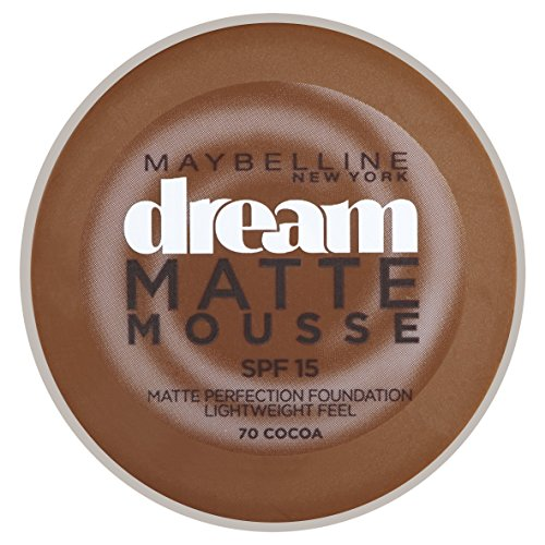 Maybelline Dream Matte 70 Cocoa Cazuela Crema - base