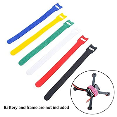 FancyWhoop 70mm Carbon Fiber Quadcopter Frame Kit for Micro FPV Racing Drone Support 1102 1103 1104 Brushless Motors etc
