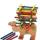 #5: Anbau Wooden Educational Camel Balance Beam Game for Children Kids Hands Learning