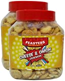 #10: More Combo - Feasters Crackers - Cheese and Onion, 250g (Pack of 2) Promo Pack