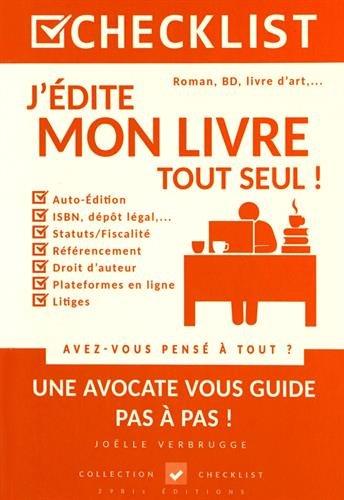 J'édite mon livre tout seul ! par Joëlle Verbrugge