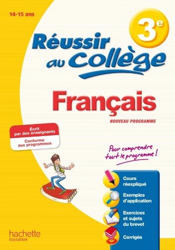 Réussir au Brevet - Français 3e