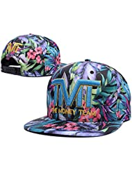 Heder ysgmy Unisexe New Fashion Adjustable Baseball TMT The Money Team hip-hop Hat casquette