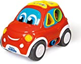 Clementoni Baby - 3-in-1 Interactive Shape Sorter Car