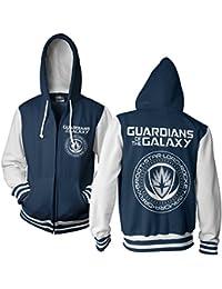 Offizielles Lizenzprodukt Guardians Of The Galaxy Varsity Zip Kapuzenpullover