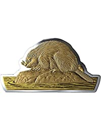 Power Coin Beaver Castor Moneda Plata 50$ Canada 2020