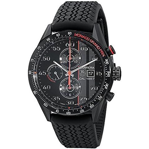 TAG Heuer de hombre CAR2A83. FT6033pantalla analógica Swiss–Reloj automático negro