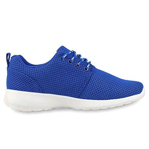 Ajvani, Sneaker donna Blau