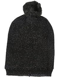 ECHO Damen Strickmütze Fleece Lined Shimmer Hat