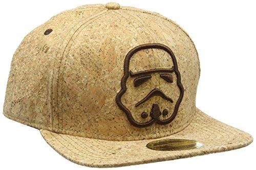 STAR WARS Unisex ricamato Stormtrooper Silhouette Snapback Baseball Cap