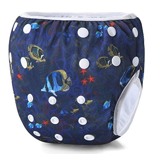 Storeofbaby Pañales de bebé para nadar pañales de natación reutilizables 0-3 años