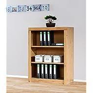4600 Aktenregal Bücherregal 90 x 120cm, in Wildeiche teilmassiv