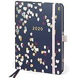 Boxclever Press Perfect Year Kalender 2020 A5 mit Tabs (AUF ENGLISCH). Taschenkalender 2020 von Januar - Dezember 2020. Terminplaner 2020 mit Monatsübersichten, Budgetseiten, Einkaufslisten & Stickern