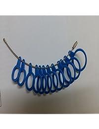 International Finger Sizer Ring Gauge 14-25 Standard Blue