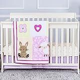 Dream On Me niños amigos 3piezas Reversible Full tamaño cuna juego de cama