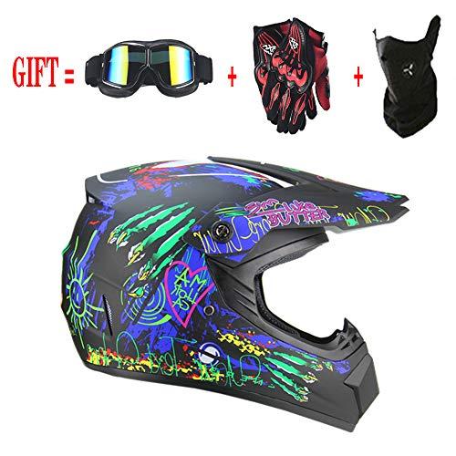 Helm Safe Full Face Classic Fahrrad MTB Dh Racing Helm Motocross Downhill Fahrradhelm Capacetes...