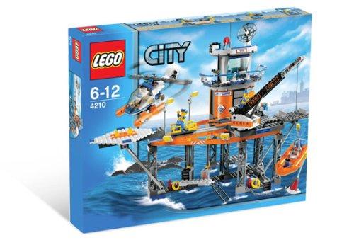 Preisvergleich Produktbild LEGO City 4210 - Rettungsplattform der Küstenwache