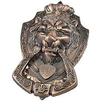 Sourcingmap a12102200ux0099 - Manopola del cassetto porta dell'armadio maniglia di tiro testa del leone tono di rame