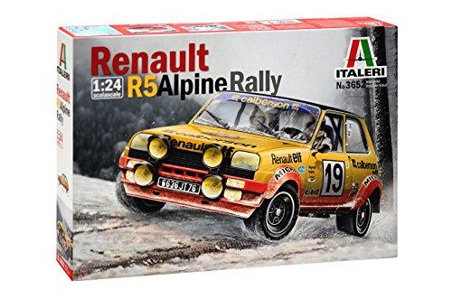 Italeri 3652 - Renault R5 Alpine Rally modellismo auto Model Kit Scala 1:24