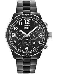 Cerruti 1881 CRA104SB02MB_wt Reloj de pulsera para hombre