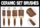 Generic Ramic set pennelli Nal S Ionic Ceramic C set Gold set B salone professionale parrucchieri