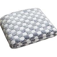 Manta Cómoda Fina Textura Tela De Franela De Alta Calidad Alfombra Exquisita para Mascotas Lavable Colchón