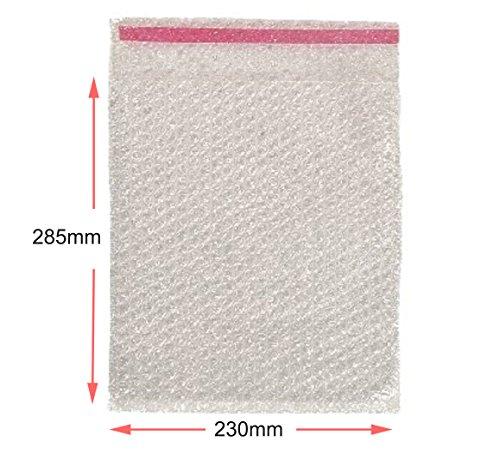 Bubble Taschen selbstklebend mit Klappe 230x 285mm/300Stück (Bam Taschen)