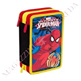 Trousse 3 zip Ultimate Spiderman Tangled Web