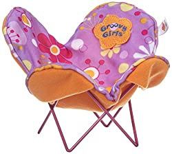 Manhattan Toy Groovy Girls Be Relaxed Butterfly Chair, Multi Color