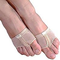 Fuß Badeschuhe für Tanz, ZZm Ballett Bauch Tanz Socken Dance Thong Mittelfuß Pads Ball von Schmerzhaften Vorfuß... preisvergleich bei billige-tabletten.eu