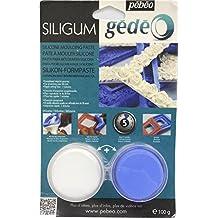 Pebeo Gedeo Siligum - Pasta para modelar silicona (100 g)