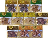 10x Paleo Kekse (10 x 50g) 5 verschiedene Sorten glutenfreie Kekse laktosefrei getreidefrei...
