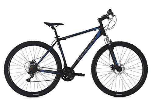 KS Cycling Mountainbike Hardtail Mtb Sharp RH 51 cm Fahrrad, Schwarz-Blau, 29 Zoll