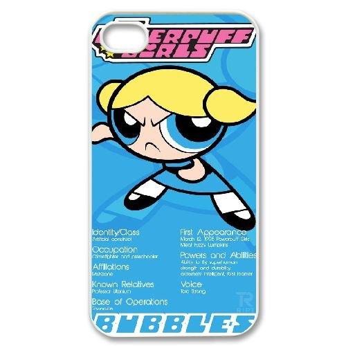 Custom iPhone 4,4S Phone Case, Personalized iPhone 4,4S Cover Case - The Powerpuff Girls (Girls Powerpuff Diy)